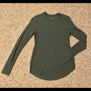 Aerie Real Soft long sleeve ribbed T